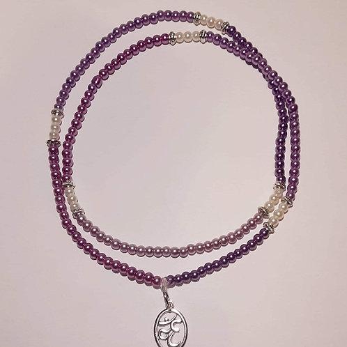 Crown Chakra Waist Beads