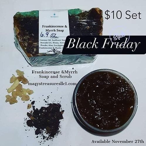 Frankincense and Myrrh Gift Set ( holiday )