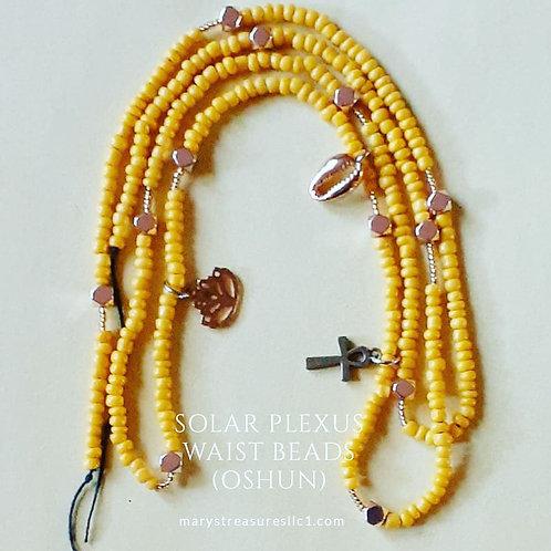 Solar Plexus Waist Beads (Permanent)