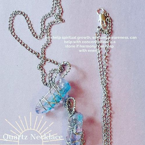 Quartz Necklace ( unicorn )