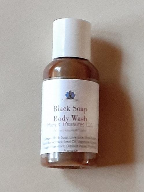 Black Soap Body Wash (Small)