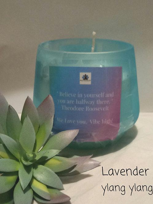 Lavender & Ylang Ylang Candle (coconut wax)