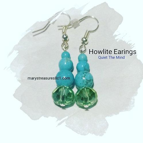 Howlite Earings