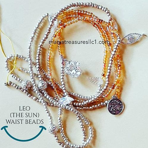 Leo (the sun) Waist Beads (Double Wrap)