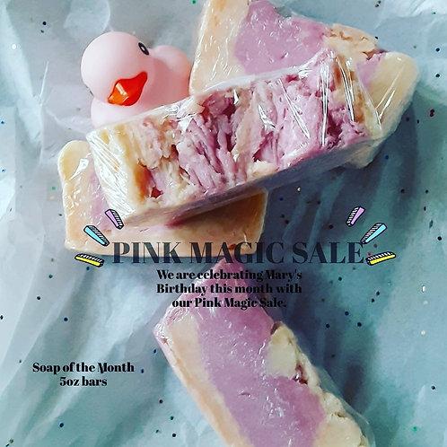 PINKY Handmade Soap  5oz