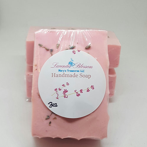 Lavender Blossom Soap medium bar