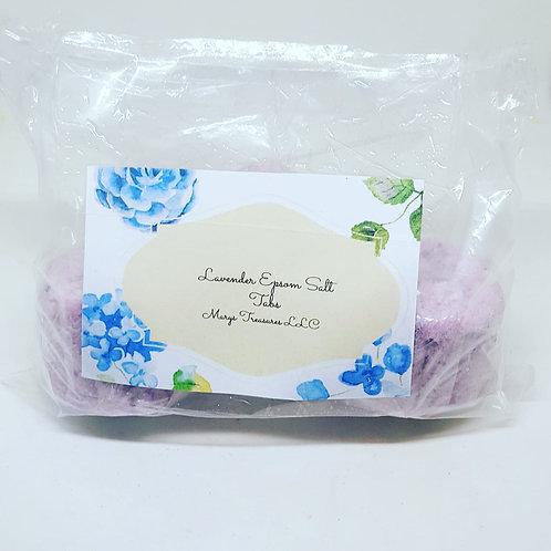 Lavender Epsom Salt Tabs ( 3 pack )