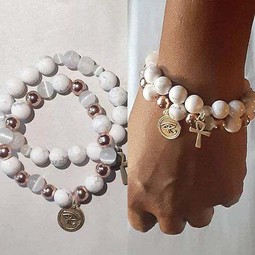 Peace & Blessing Bracelet Set