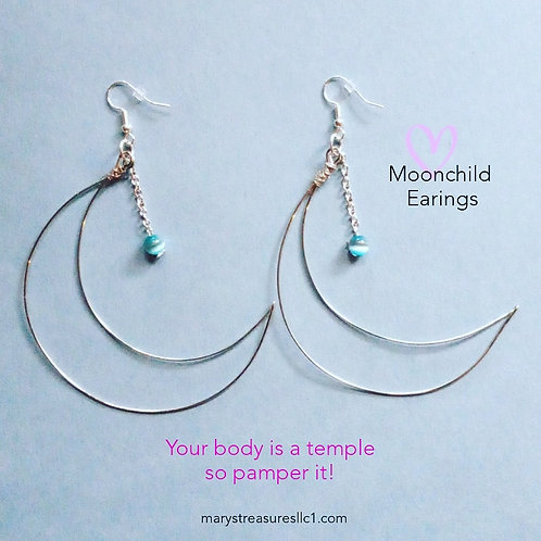 Moonchild Earings