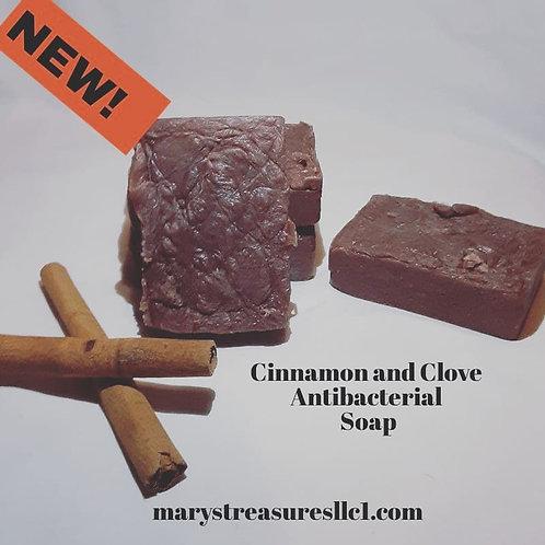 DOLLAR SOAP Cinnamon and Clove Antibacterial Soap