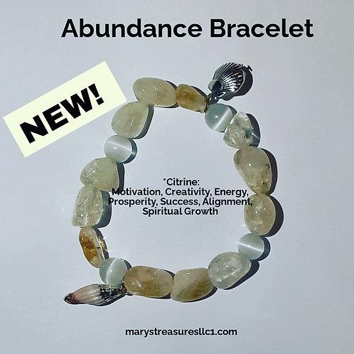 Abundance Bracelet ( citrine )