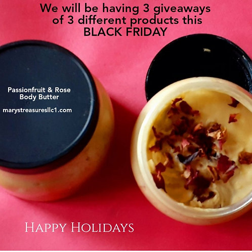 Passion Fruit and Rose Body Butter