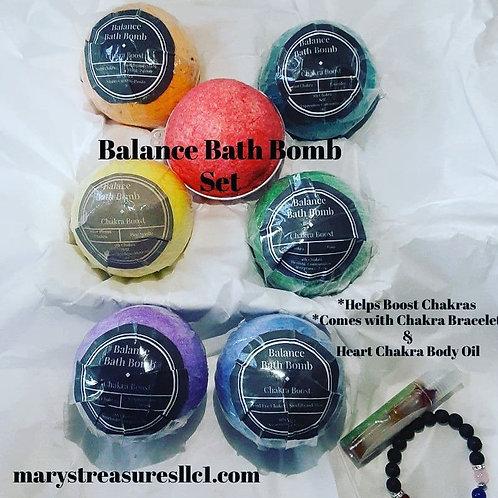 Balance Bath Bomb Set