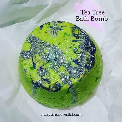 Tea Tree Bath Bomb