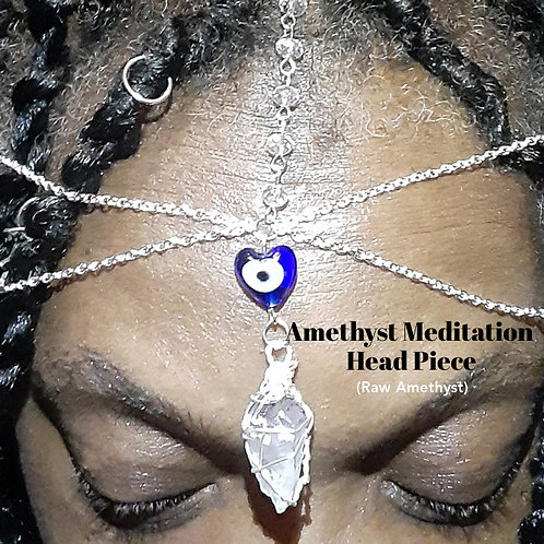 Amethyst Meditation Head Piece
