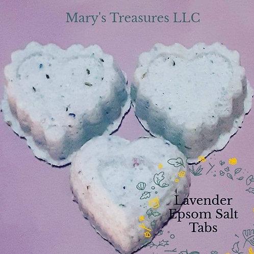 Lavender Epsom Salt  crumbs (Lg)