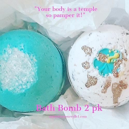Beauty Queen Bath Bomb 2 Pack