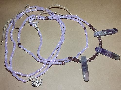Amethyst Waist Beads Set