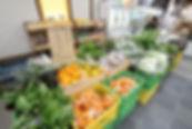 地元野菜売り場