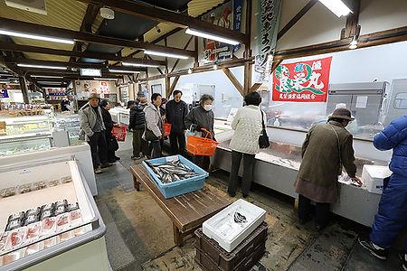 鮮魚売り場