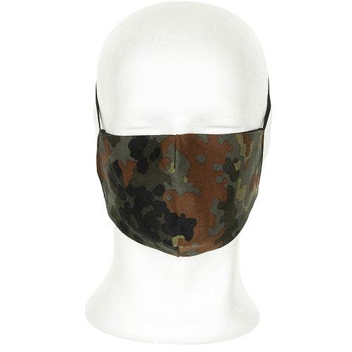 Masque tissu camo BW