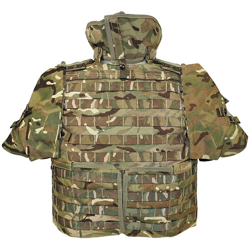 Gilet protection tactique MOLLE