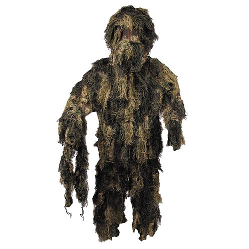 Ghillie camouflage 4 pièces