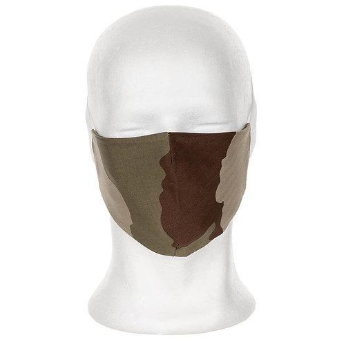 Masque tissu camo Desert