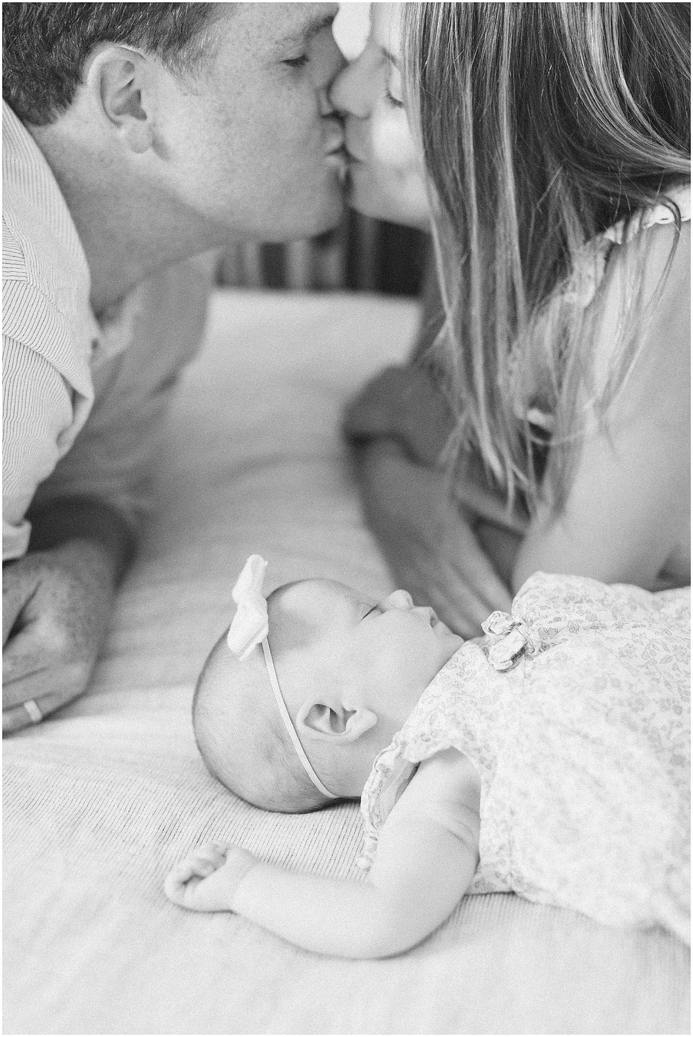 fine art lifestyle bright airy light filled classic timeless editorial newborn session by San Francisco Bay Area maternity family photographer Torrey Fox