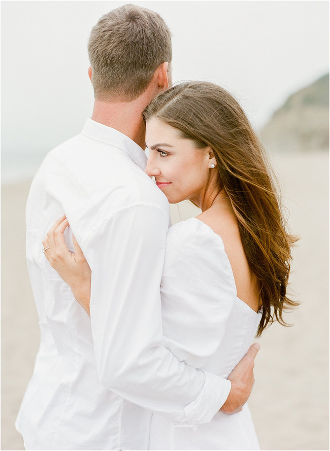 Baker Beach Engagement Session | Jen & Keith