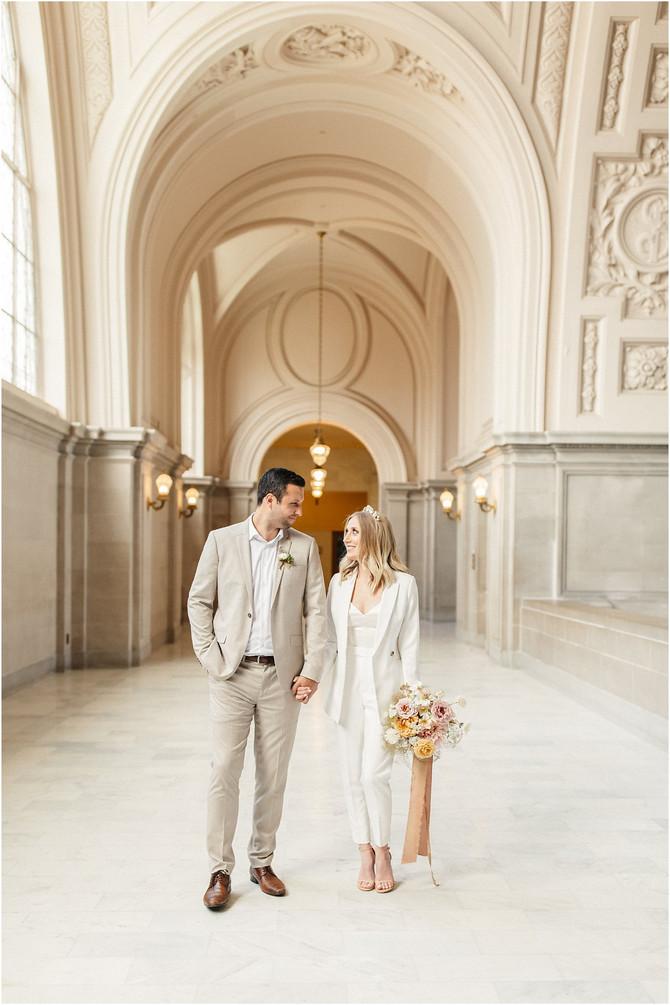 San Francisco City Hall Wedding | Emma & Danny