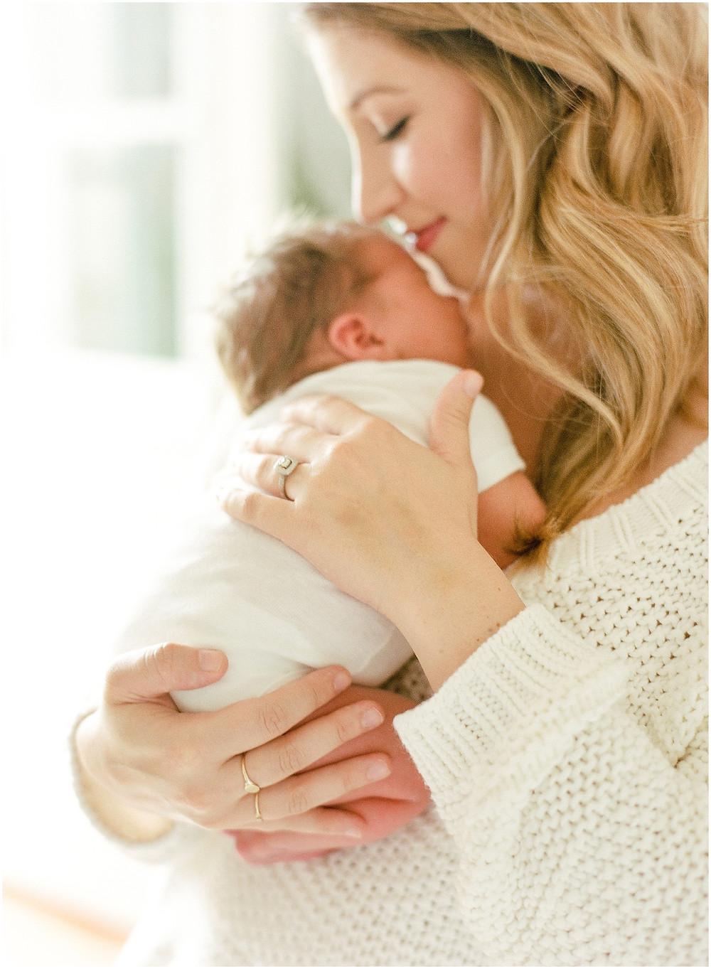 San Francisco newborn session by lifestyle fine art photographer Torrey Fox