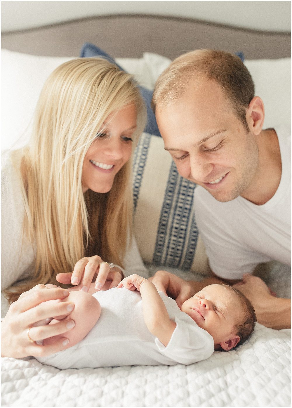 Bay Area newborn session by San Francisco lifestyle fine art photographer Torrey Fox