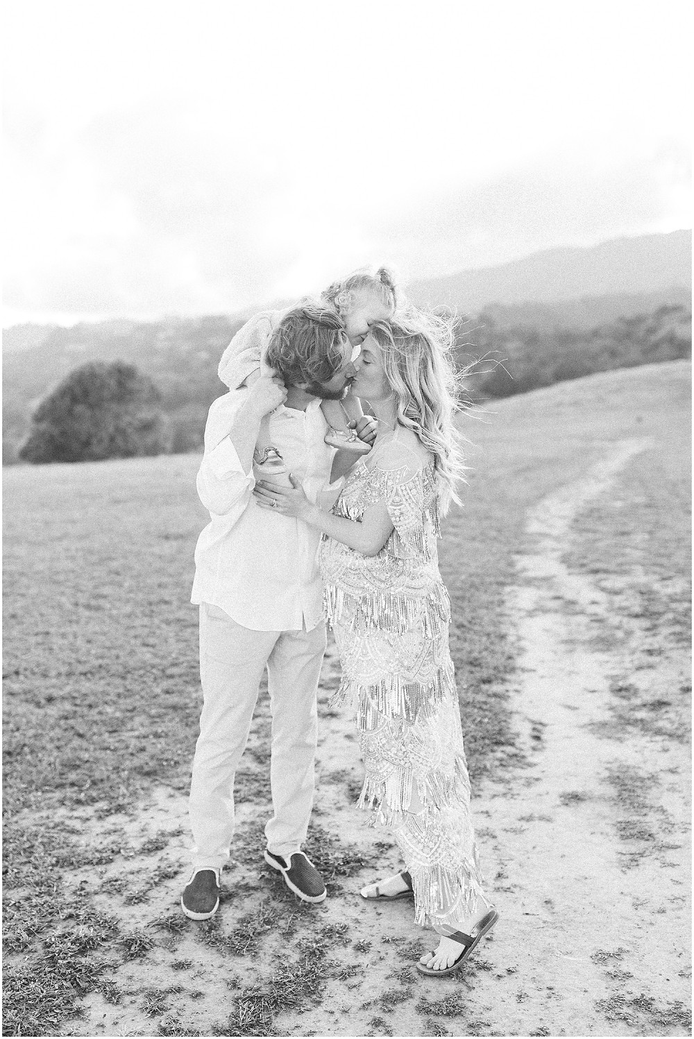 Marin golden hour maternity session by photographer Torrey fox photography