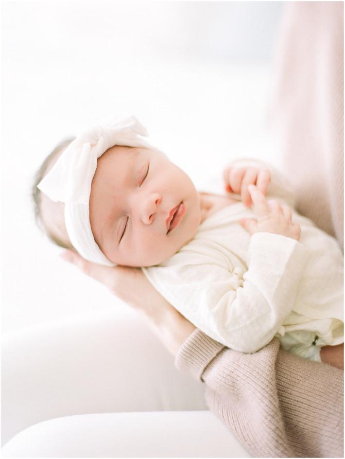 San Francisco Newborn Session: Baby Caroline