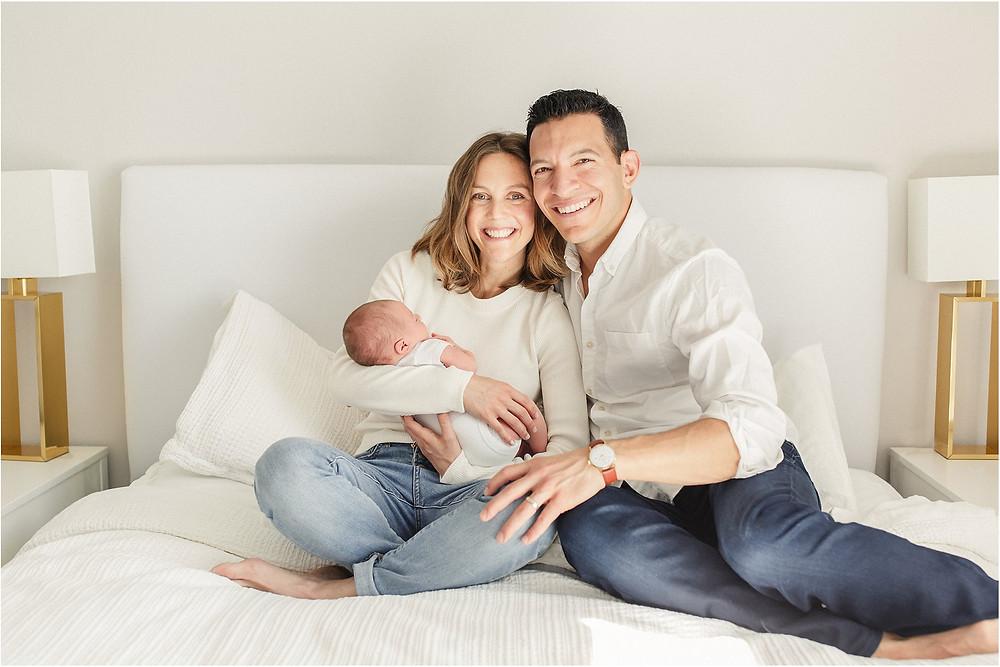 San Francisco newborn photography session by Bay Area fine art newborn, maternity and family photographer Torrey Fox