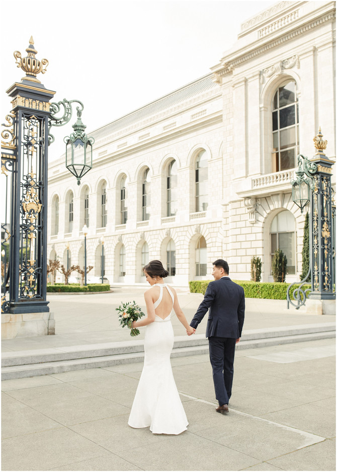 San Francisco City Hall Wedding | Evelyn & Rong