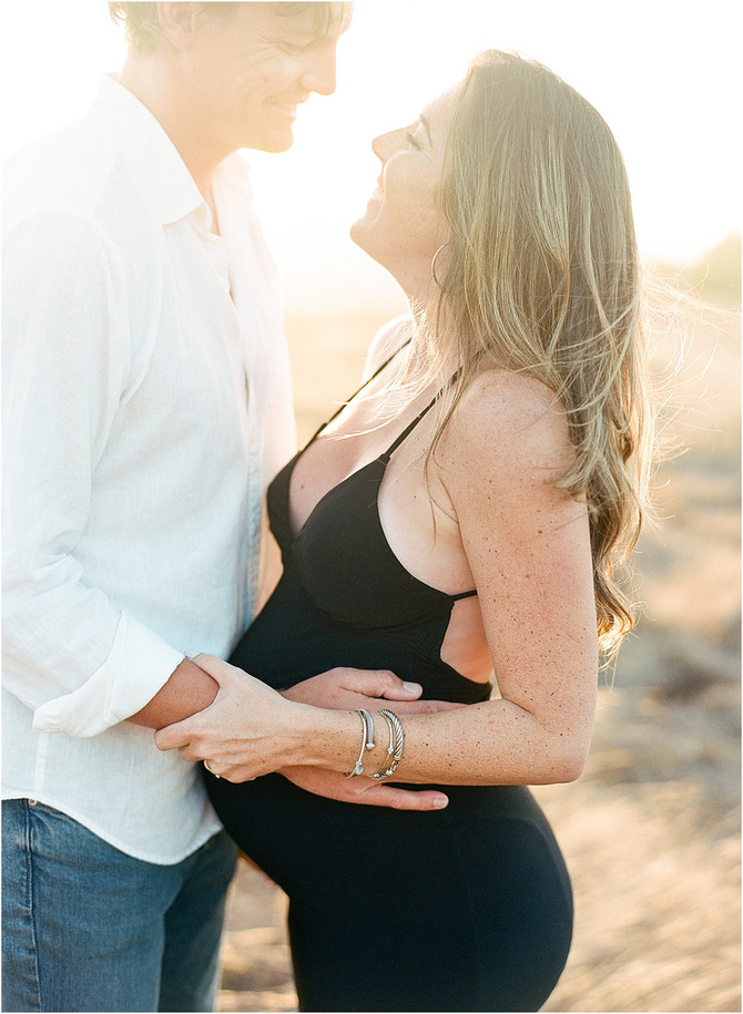 Tiburon Hills Maternity Session | Courtney & Jack