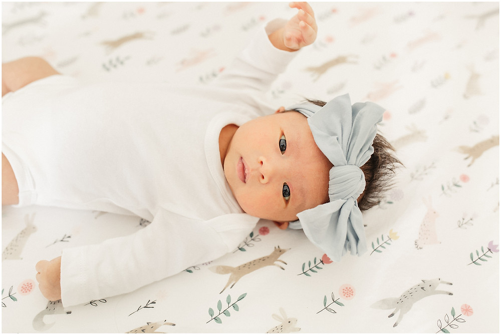 San Francisco fine art lifestyle newborn session by Marin North Bay Bay Area photographer Torrey Fox. Bright airy sun filled natural authentic. Pregnancy newborn style