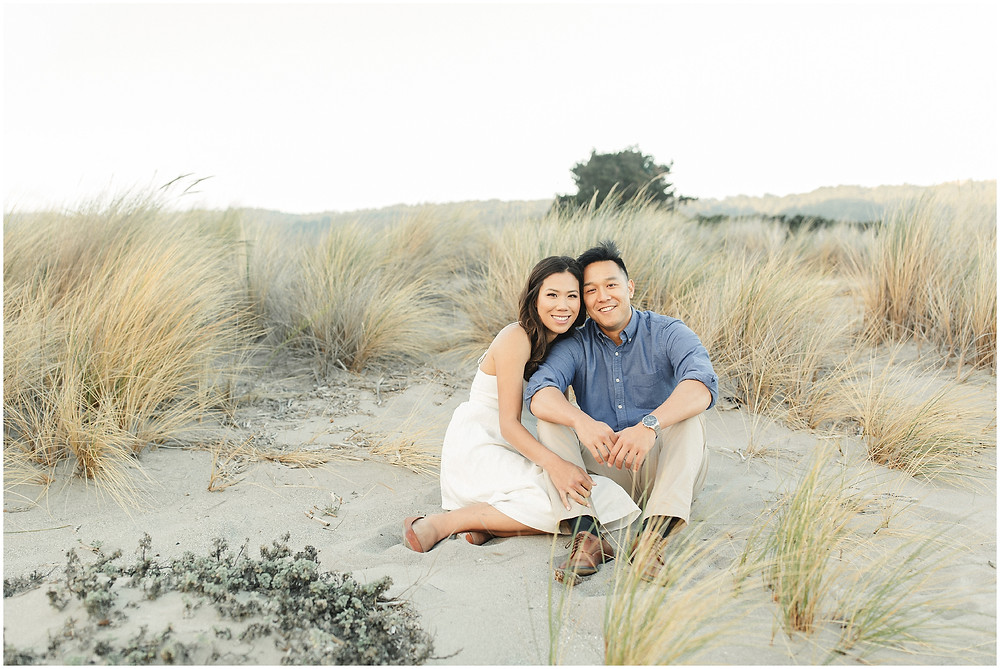 Marin engagement Photography at Stinson Beach by Torrey Fox