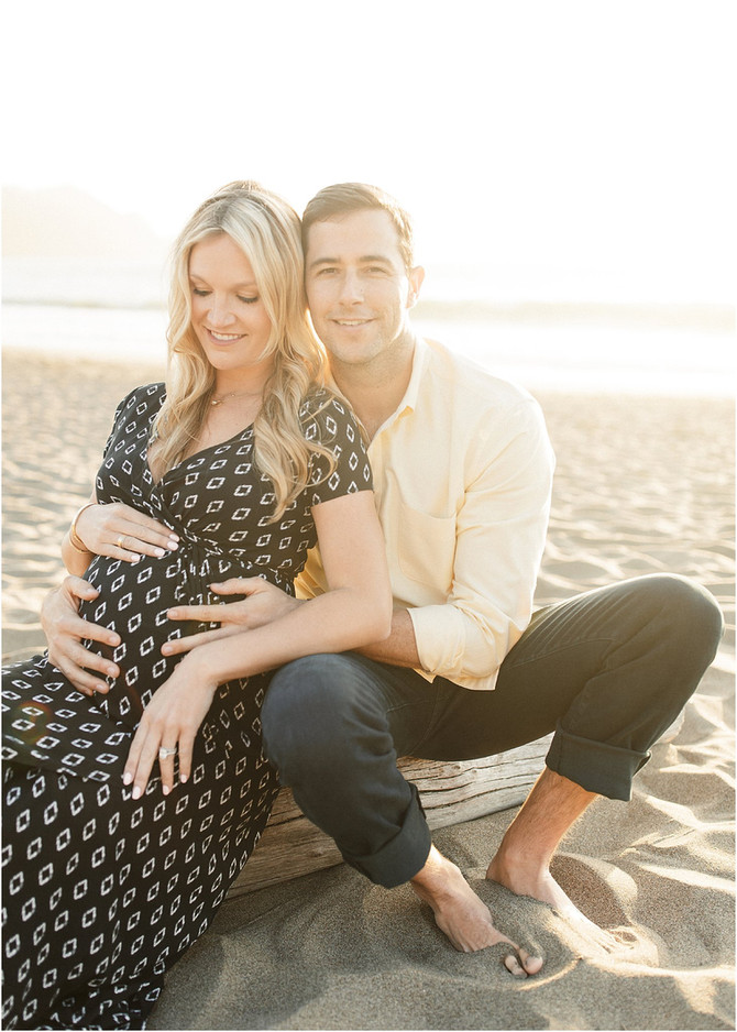 San Francisco Maternity session | Margot & Brian