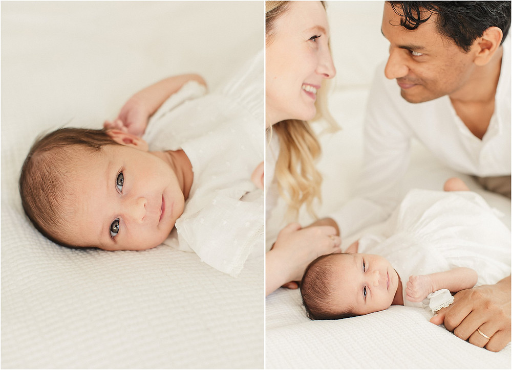 San Francisco fine art lifestyle bright airy newborn session by bay area marin photographer Torrey Fox
