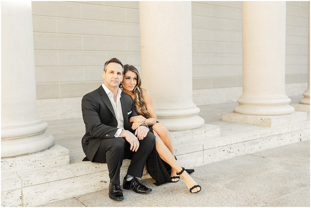 San Francisco engagement session at The Legion of Honor by Torrey Fox Photography