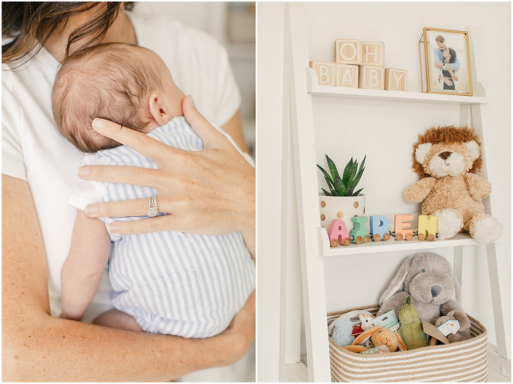 Bay Area newborn session in Redwood City by San Francisco lifestyle fine art photographer Torrey Fox