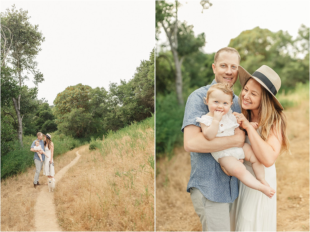 Mill Valley Marin North Bay baby family portrait session by fine art San Francisco Photographer Torrey Fox