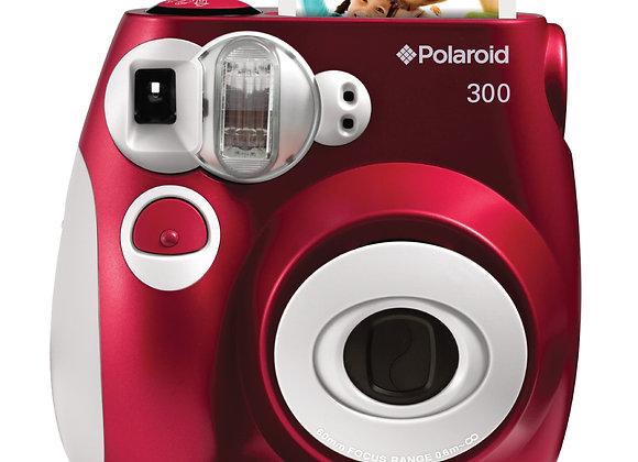 Polaroid PIC300 Appareil Photo Instantané Rouge