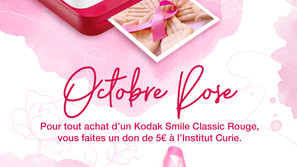 Deals ● Kodak Smile Classic Rouge // Octobre Rose