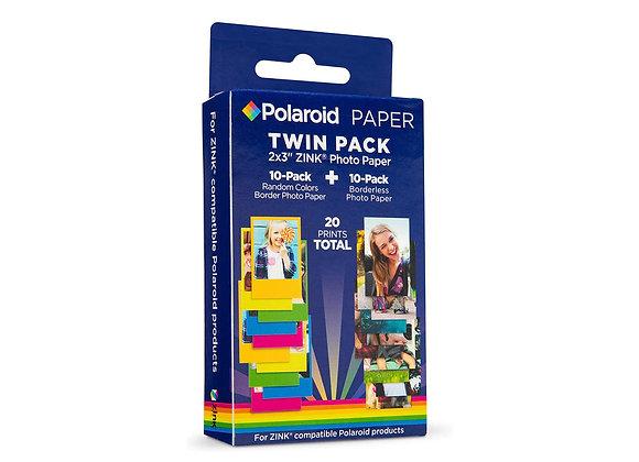 Papier Photo ZINK® Polaroid 2x3'' - Twin Pack