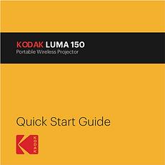 Manuel Kodak Luma 150