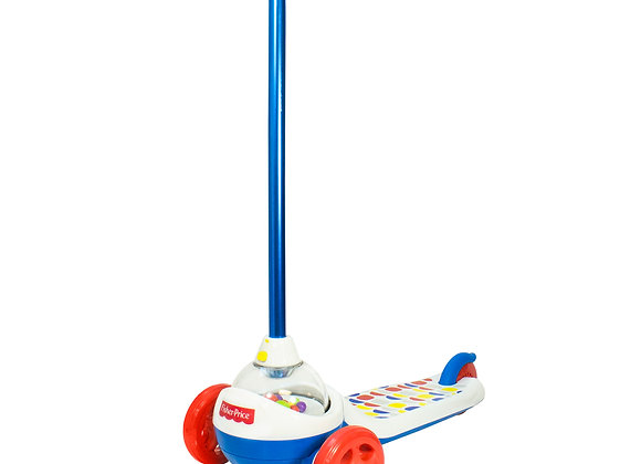 Trottinette Fisher Price Popping 3 roues avec balles